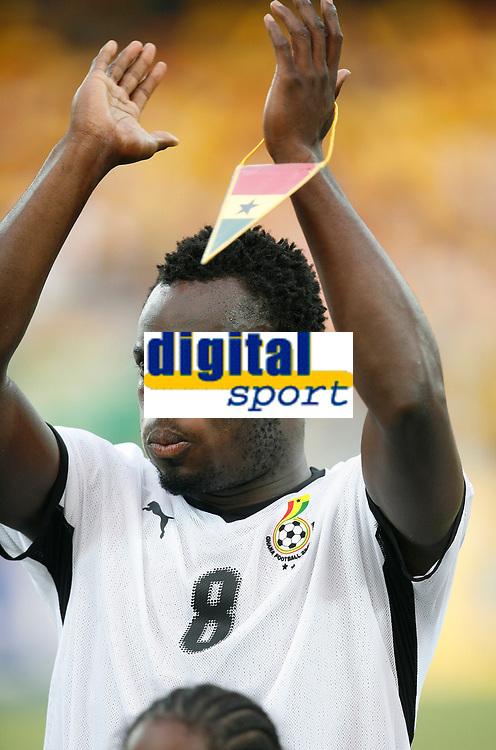 Photo: Steve Bond/Richard Lane Photography.<br />Ghana v Guinea. Africa Cup of Nations. 20/01/2008. Michael Essien lines up for Ghana
