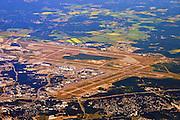 runway approach shot Helsinki Airport (AKA Helsinki-Vantaa Airport) (IATA: HEL, ICAO: EFHK)