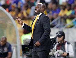 Stephen Komphela, Head Coach, of Kaizer Chiefs during the 2016 Premier Soccer League match between Chippa United and Kaizer Chiefs held at the Nelson Mandela Bay Stadium in Port Elizabeth, South Africa on the 3rd December 2016.<br /> <br /> Photo by:   Richard Huggard / Real Time Images