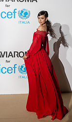 Sofia Carson arriving at a photocall for the Unicef Summer Gala Presented by Luisaviaroma at Villa Violina on August 10, 2018 in Porto Cervo, Italy. Photo by Alessandro Tocco/ABACAPRESS.COM