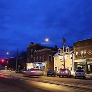 The main street of Madison, Connecticut, USA. 20th February 2014. Photo Tim Clayton
