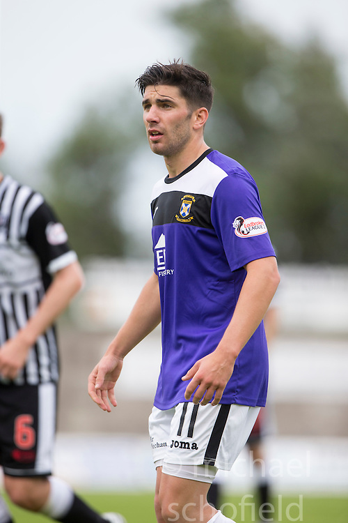 East Fife's Kyle Wilkie. <br /> East Fife 2 v 1 Elgin City, Ladbrokes Scottish Football League Division Two game played 22/8/2015 at East Fife's home ground, Bayview Stadium.