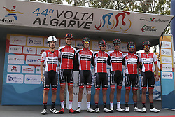 February 14, 2018 - Lagos, Portugal - Miranda-Mortagua before the 1st stage of the cycling Tour of Algarve between Albufeira and Lagos, on February 14, 2018. (Credit Image: © Str/NurPhoto via ZUMA Press)