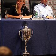 NLD/Amsterdam/20070801 - Persconferentie LG Amsterdam Tournament 2007, beker, cup