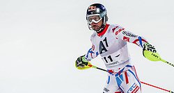 26.01.2016, Planai, Schladming, AUT, FIS Weltcup Ski Alpin, Schladming, Slalom, Herren, 2. Durchgang, im Bild Alexis Pinturault (FRA) // Alexis Pinturault of France reacts after his 2nd run of men's Slalom Race of Schladming FIS Ski Alpine World Cup at the Planai in Schladming, Austria on 2016/01/26. EXPA Pictures © 2016, PhotoCredit: EXPA/ Johann Groder