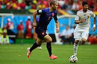 Daryl Janmaat. Salvador BA 13 jun 2014. Jogo 03 Holanda VS Espanha. Spain v Holland. World Cup 2014. Fonte Nova stadium, Bahia, Brazil