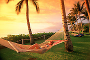 Hammock, Wailea, Maui, Hawaii, USA<br />