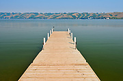 Dock on Pasqua Lake <br />