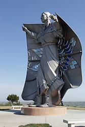 Dignity - statue located at South Dakota Welcome Center on I90 near Chamberlain South Dakota