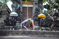 Pura Dalam Putir Ceger Temple, Bali Delia Leung at Pura Dalam Putir Ceger Temple, Bali