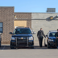 080614       Cayla Nimmo<br /> <br /> The Gallup Police Department went through vehicle inspection Wednesday morning.