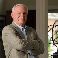 Richard L. McGraw, former Under Secretary of HUD and Assistant Secretary of Defense, photographed at his home in Wilmington, NC, Monday, May 11, 2015. Photo by Michael Cline Photography