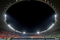 March 21, 2019 - Vienna, Austria - General view of Ernst Happel Stadium during the UEFA European Qualifiers 2020 match between Austria and Poland at Ernst Happel Stadium in Vienna, Austria on March 21, 2019  (Credit Image: © Andrew Surma/NurPhoto via ZUMA Press)