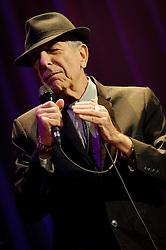 Dec. 4, 2012 - Toronto, Ontario, Canada - Canadian singer-songwriter, musician, poet, and novelist LEONARD COHEN performed at Air Canada Centre in Toronto (Credit Image: © Igor Vidyashev/ZUMAPRESS.com)