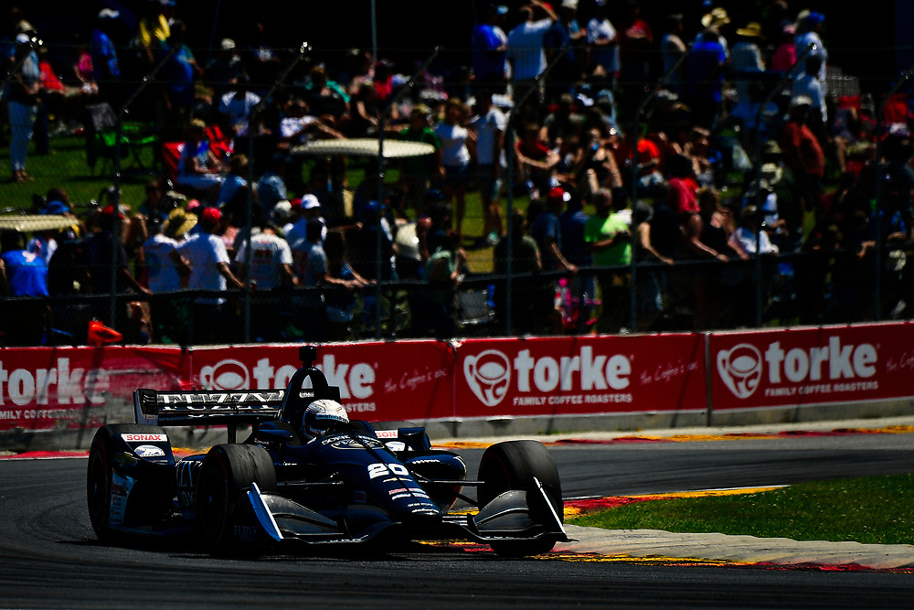 Jordan King, Ed Carpenter Racing Chevrolet<br /> Sunday 24 June 2018<br /> KOHLER Grand Prix at Road America<br /> Verizon IndyCar Series<br /> Road America WI USA<br /> World Copyright: Scott R LePage