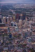 Beltline District (Foreground) & Downtown Calgary