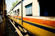 Train Yangon Myanmar Burma