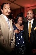 Scott Tucker, Photographer Margo Jordan and Jeff Burns at The Apollo Theater 4th Annual Hall of Fame Induction Ceremony & Gala with production design by In Square Circle Design Concepts, held at The Apollo Theater on June 2, 2008