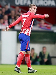 Atletico de Madrid's Antoine Griezmann during Europa League semi-final, second leg in Madrid, Spain, May 3, 2018. Atletico won 1-0 and reaches the final. Photo by Acero/Alterphotos/ABACAPRESS.COM