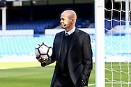 Referee Lee Mason looks on before the match. Premier league match, Everton v Middlesbrough at Goodison Park in Liverpool, Merseyside on Saturday 17th September 2016.<br /> pic by Chris Stading, Andrew Orchard sports photography.