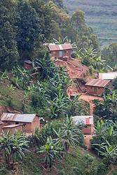 Hillside Homes and Drying Bricks