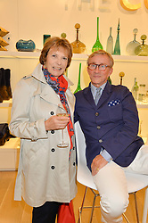 JOAN BAKEWELL and JASPER CONRAN at the launch of the Conran Shop at Selfridge's, Oxford Street, London on 22nd September 2015.