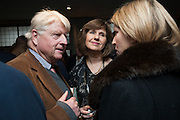 STANLEY JOHNSON, Party to celebrate the publication of 'Winter Games' by Rachel Johnson. the Draft House, Tower Bridge. London. 1 November 2012.