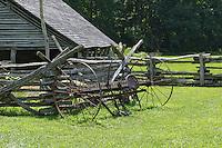 Mountain Farm Museum, Oconaluftee,Great Smoky Mountains National Park, North Carolina, USA.