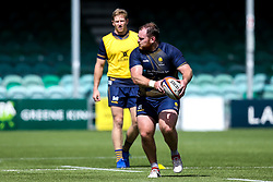 Conor Carey of Worcester Warriors during training ahead of the Gallagher Premiership fixture against Harlequins - Mandatory by-line: Robbie Stephenson/JMP - 24/08/2020 - RUGBY - Sixways Stadium - Worcester, England - Worcester Warriors Training