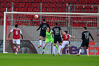 PIRAEUS, GREECE - FEBRUARY 25: Action during the UEFA Europa League Round of 32 match between Arsenal FC and SL Benfica at Karaiskakis Stadium on February 25, 2021 in Piraeus, Greece.(Photo by MB Media)