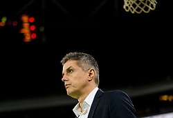 Zoran Martic, coach of Petrol Olimpija during basketball match between KK Petrol Olimpija and KK Hopsi Polzela in Round #2 of Liga NovaKBM 2018/19, on October 21, 2018, in Arena Stozice, Ljubljana, Slovenia. Photo by Vid Ponikvar / Sportida