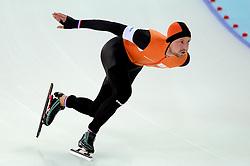 12-02-2014 SCHAATSEN: OLYMPIC GAMES: SOTSJI<br /> Michel Mulder wint brons op de 1000 meter<br /> ©2014-FotoHoogendoorn.nl