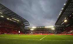 General view of Anfield before the match - Mandatory by-line: Jack Phillips/JMP - 11/02/2017 - FOOTBALL - Anfield - Liverpool, England - Liverpool v Tottenham Hotspur - Premier League