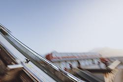 24.02.2021, Oberstdorf, GER, FIS Weltmeisterschaften Ski Nordisch, Oberstdorf 2021, Damen, Skisprung, HS106, Qualifikation, im Bild Anna Rupprecht (GER) // Anna Rupprecht of Germany during the Qualification for the women ski Jumping HS106 Competition of FIS Nordic Ski World Championships 2021. Oberstdorf, Germany on 2021/02/24. EXPA Pictures © 2021, PhotoCredit: EXPA/ Dominik Angerer
