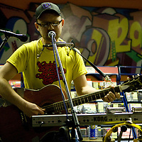 Magic Arm performs live at In The City, Piccadilly Records, Machester, UK, 2008-10-06