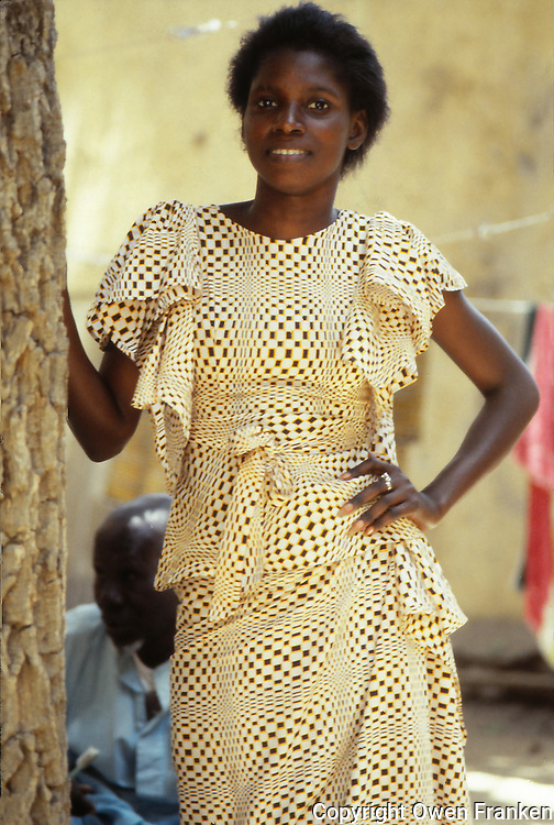 pretty woman in Senegal