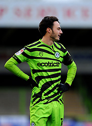 Aaron Collins of Forest Green Rovers- Mandatory by-line: Nizaam Jones/JMP - 16/01/2021 - FOOTBALL - innocent New Lawn Stadium - Nailsworth, England - Forest Green Rovers v Port Vale - Sky Bet League Two