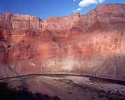 Nankoweap Delta, Nankoweap Creek, Colorado River mile 52.5, Grand Canyon National Park, Arizona, USA; 4 May 2008; Pentax 67II, 45mm lens, polarizer, Velvia 100