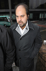 © Licensed to London News Pictures. 19/01/2012. London, UK. Indian businessman Kautilya Nandan Pruthi  arriving at Southwark Crown Court today (19/01/2012) where he is accused of masterminding a £115 million 'Ponzi' scam that claimed several high-profile victims. Pruthi allegedly ran a bogus high yield fund which offered clients returns of up to 13% a month. Photo credit : Ben Cawthra/LNP