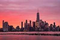 Sunrise, Lower Manhattan
