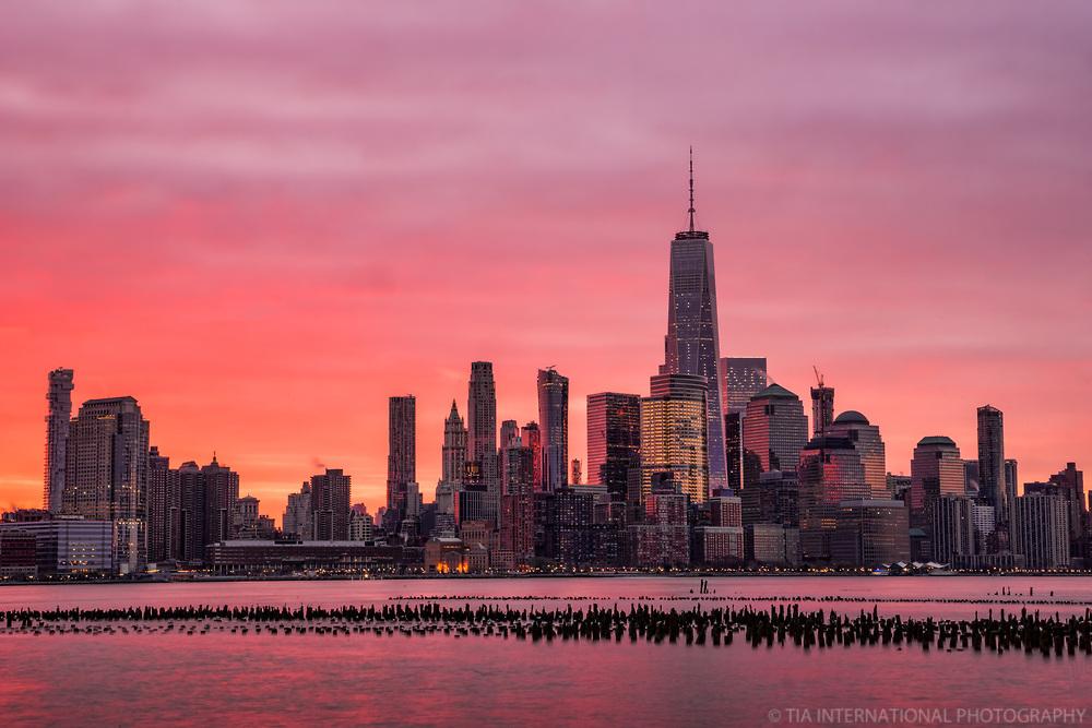 Sunrise, Lower Manhattan