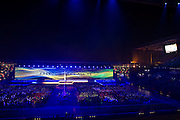 23.07.2014. Glasgow, Scotland. Glasgow Commonwealth Games. Fans ahead of the opening ceremony.