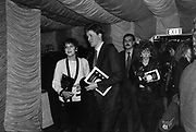 Viscount Althorp and hon Janet Astor at Absolute Beginners 1986 ONE TIME USE ONLY - DO NOT ARCHIVE  © Copyright Photograph by Dafydd Jones 66 Stockwell Park Rd. London SW9 0DA Tel 020 7733 0108 www.dafjones.com