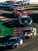 October 30-Nov 1, 2020. IMSA Weathertech Raceway Laguna Seca: #22 Gradient Racing, Acura NSX GT3, Till Bechtolsheimer, Marc Miller, #30 Team Hardpoint, Audi R8 LMS GT3, Spencer Pumpelly, Rob Ferriol, #57 Heinricher Racing w/MSR Curb-Agajanian, Acura NSX GT3, GTD: Alvaro Parente, Misha Goikhberg, #25 BMW Team RLL BMW M8 GTE, GTLM: Connor De Phillippi, Bruno Spengler, #63 Scuderia Corsa Ferrari 488 GT3, GTD: Cooper MacNeil, Toni Vilander
