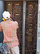 Telecom switchbox, Alappuzha, India South