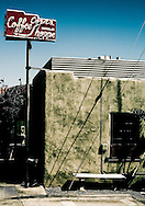 Santa Monica Cafe, Los Angeles California USA