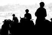 NOVEMBER 3, 2017: BREEDERS' CUP. Jockeys