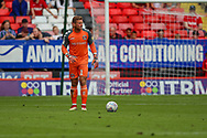 Charlton Athletic goalkeeper Dillon Phillips (1) during the EFL Sky Bet League 1 match between Charlton Athletic and Shrewsbury Town at The Valley, London, England on 11 August 2018.