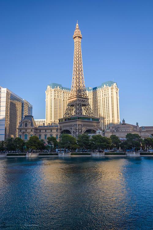 The Eiffel Tower, Las Vegas, Neveda, USA.