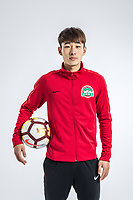 **EXCLUSIVE**Portrait of Chinese soccer player Jin Qi of Henan Jianye F.C. for the 2018 Chinese Football Association Super League, in Zhengzhou city, central China's Henan province, 21 February 2018.